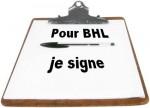 Une pétition demande que BHL devienne ambassadeur en Libye dans BHL petition-150x108