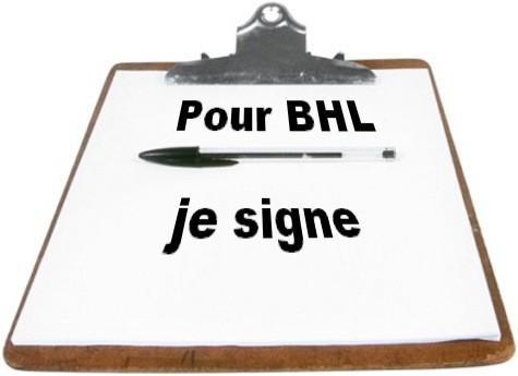 petition BHL dans Humour